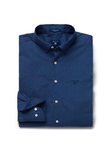Desenli Uzun Kollu Gömlek-Gant